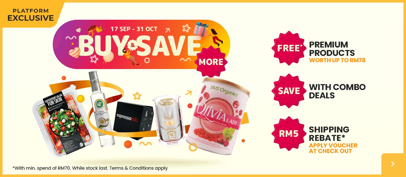 Buy & Save